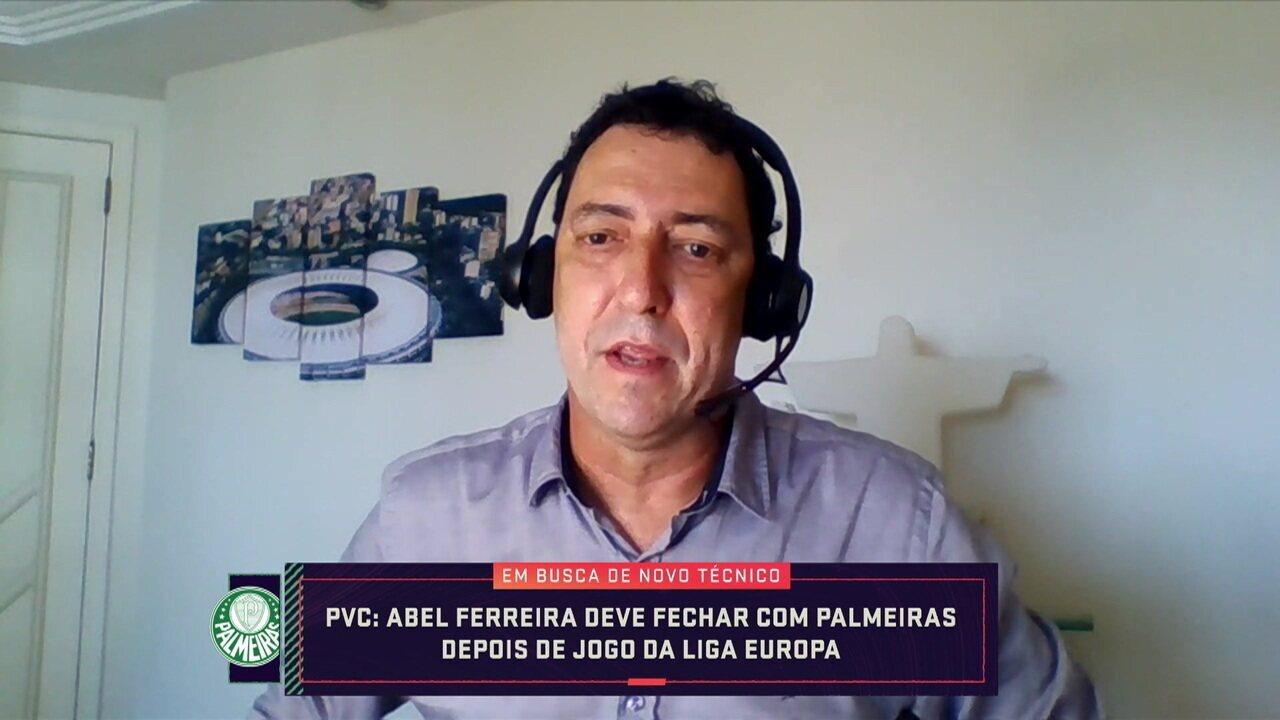 PVC diz que Abel Ferreira pode ser o novo técnico do Palmeiras