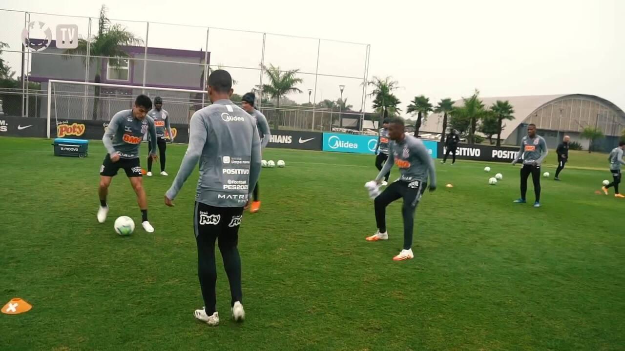Corinthians treina, e Fábio Santos analisa a importância de uma vitória contra o Inter