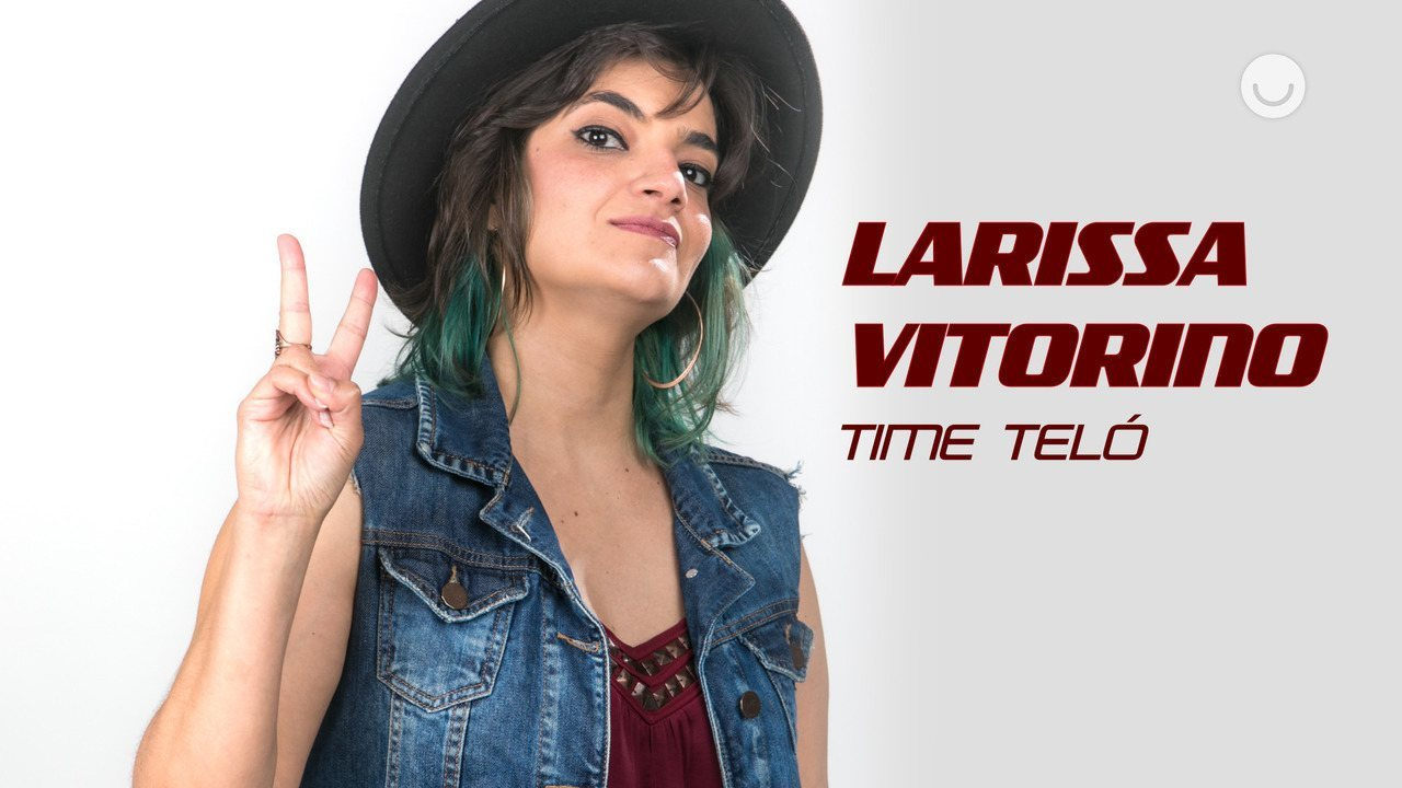 Conheça a participante Larissa Vitorino, do Time Teló