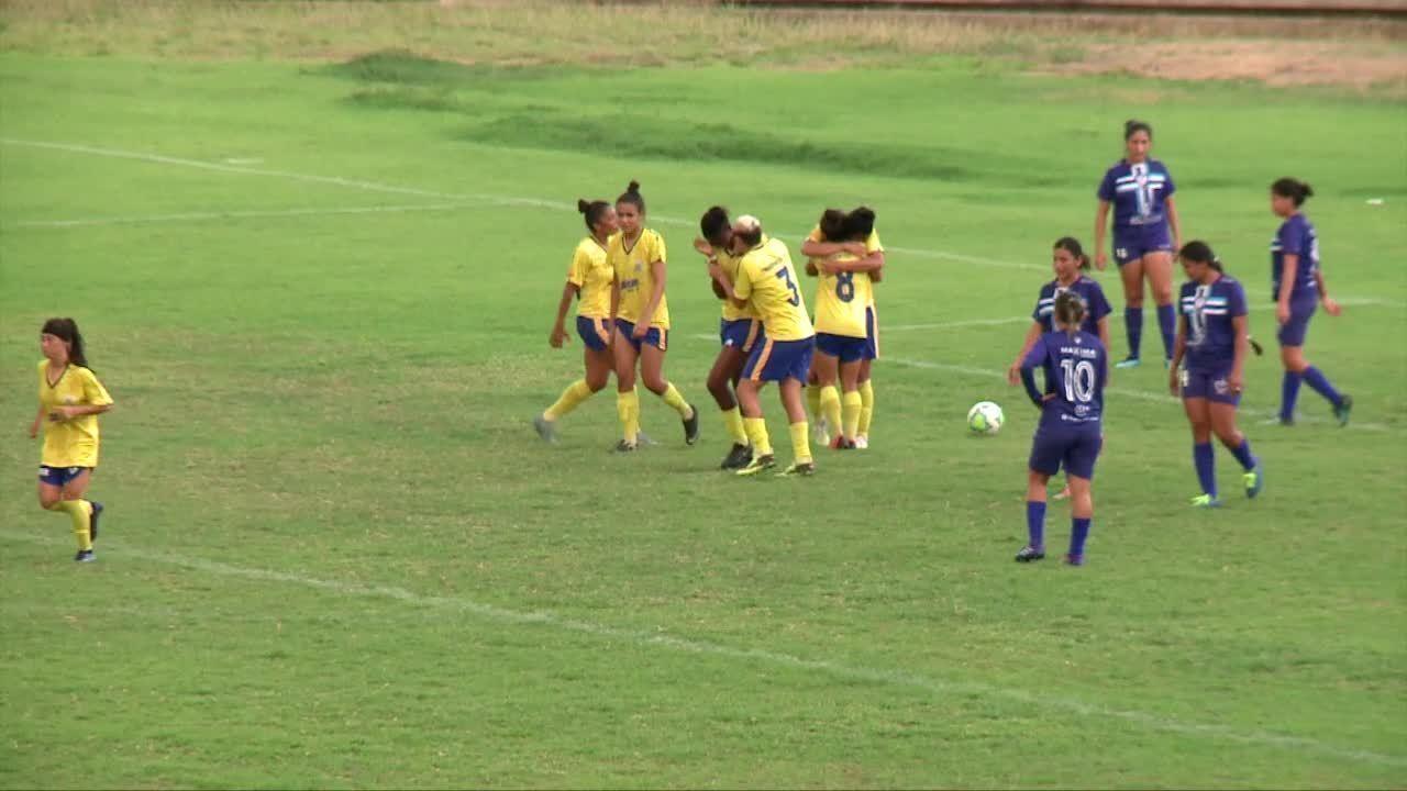 Os gols de Tiradentes-PI 6 x 1 Oratório-AP - Campeonato Brasileiro feminino Série A2