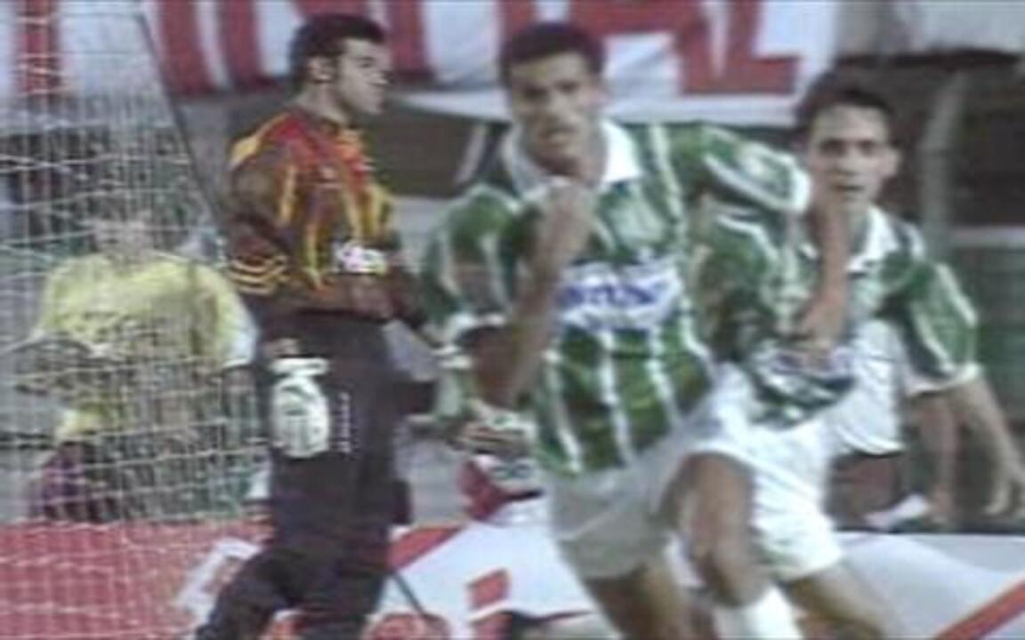 Em 1994, os gols de Corinthians 1 x 3 Palmeiras pela final do Campeonato Brasileiro