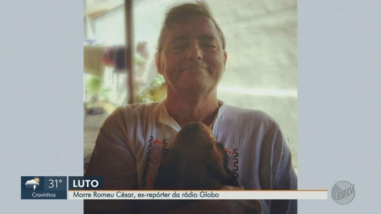 Radialista esportivo Romeu Cesar morre com Covid-19