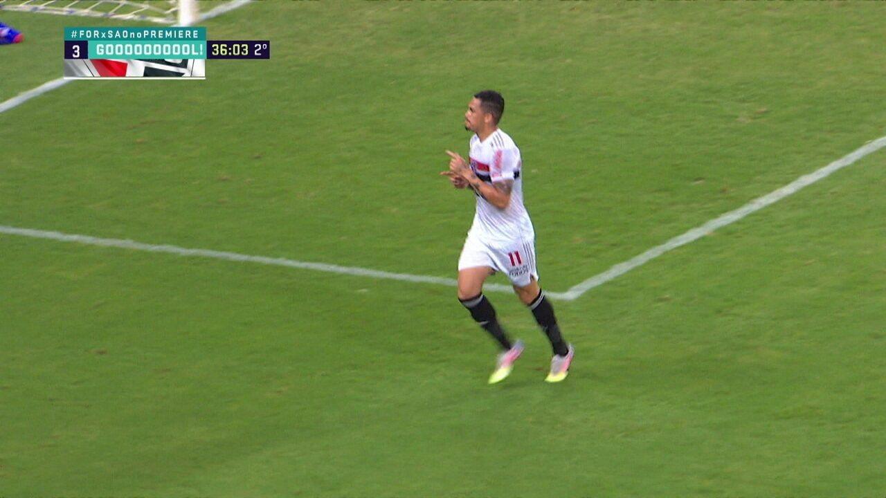 Melhores momentos: Fortaleza 2 x 3 São Paulo pela 21ª do Brasileirão 2020