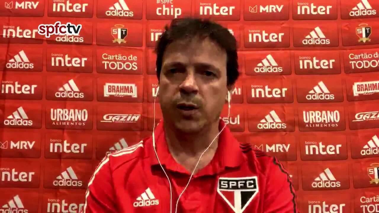 Confira a coletiva de Fernando Diniz pós-jogo entre Fortaleza e São Paulo