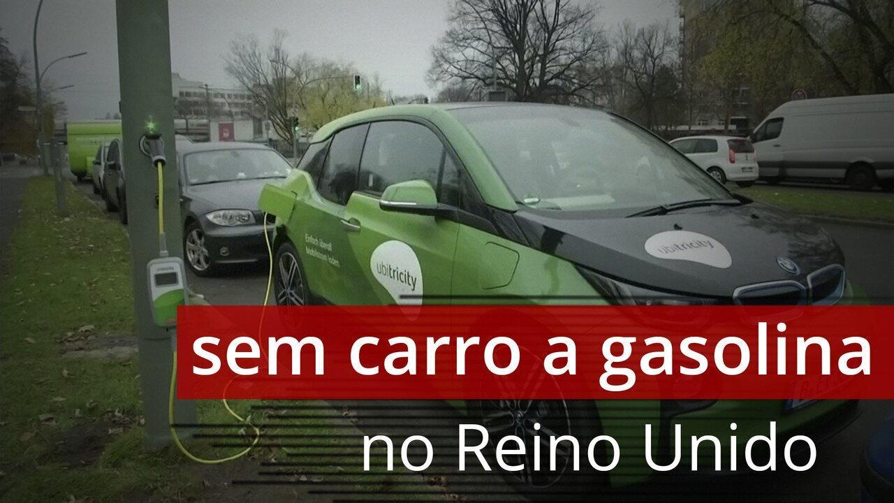 Reino Unido antecipa para 2030 a proibição de venda de novos carros a gasolina ou diesel