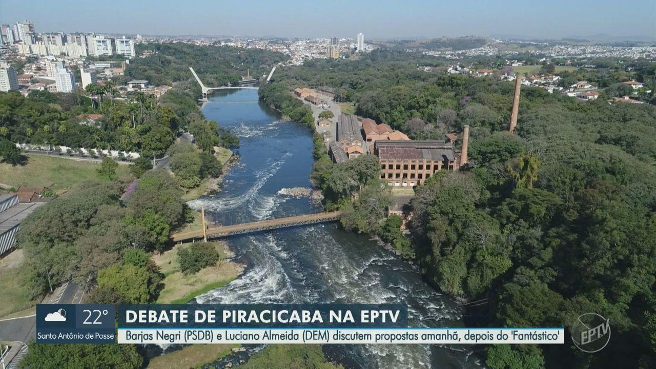 Barjas Negri (PSDB) e Luciano Almeida (DEM) discutem propostas em debate neste domingo