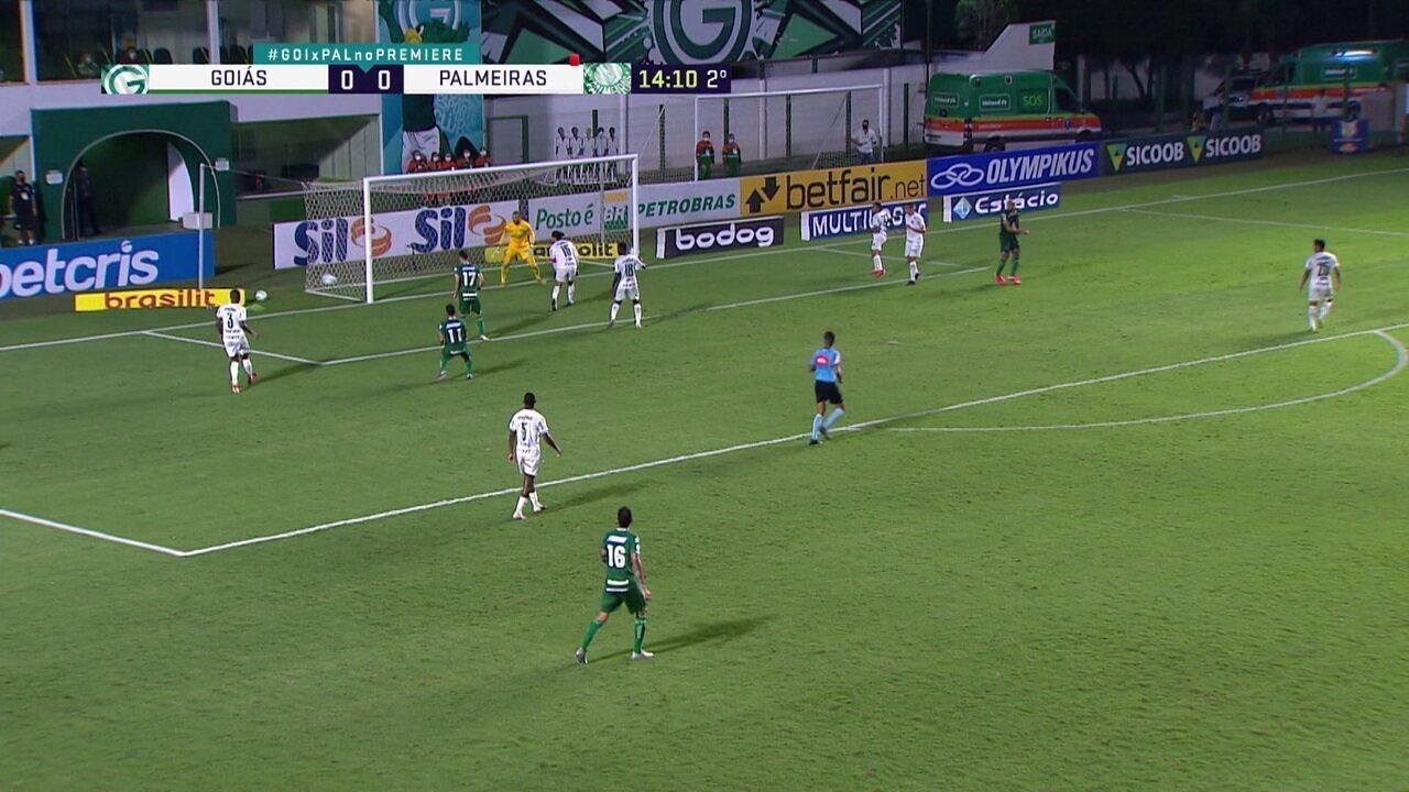 Melhores momentos: Goiás 1 x 0 Palmeiras, pela 22ª rodada do Brasileirão
