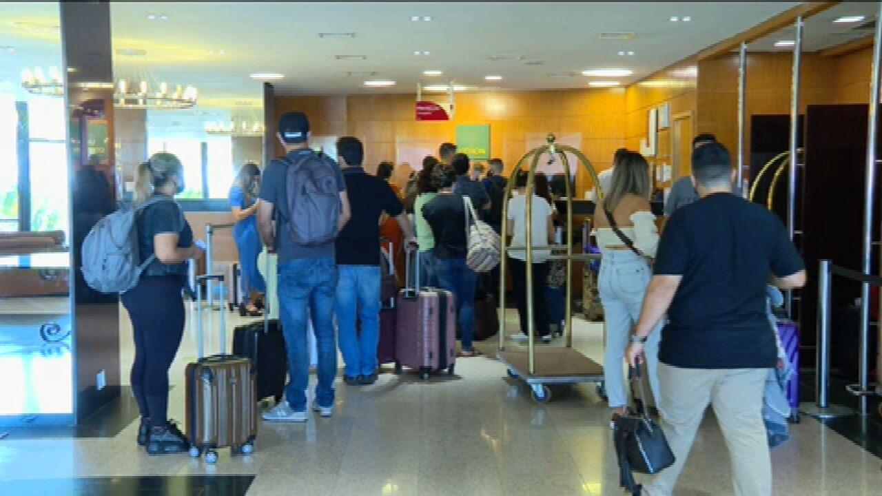 Setor hoteleiro no Rio começa a registrar aumento de turistas