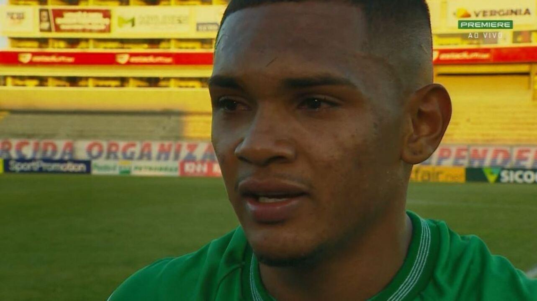 """Renanzinho fala após vitória: """"Esse gol é pra tirar um peso de cima de mim"""""""