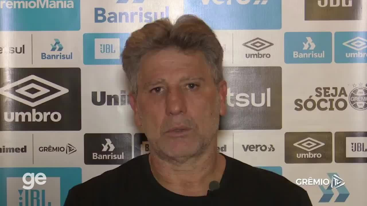 Renato Portaluppi presta homenagem em depoimento após a morte de Maradona