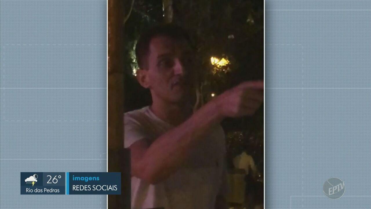 Vídeo mostra manobrista sendo humilhado por empresário em bar de Campinas