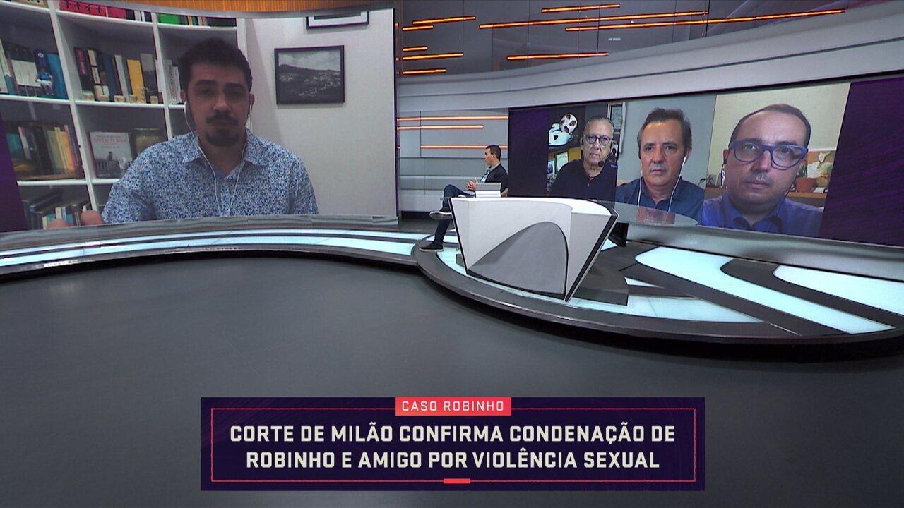 Robinho é condenado em segunda instância por crime sexual na Itália