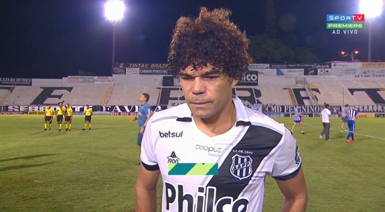Camilo lamenta derrota da Ponte para o Avaí