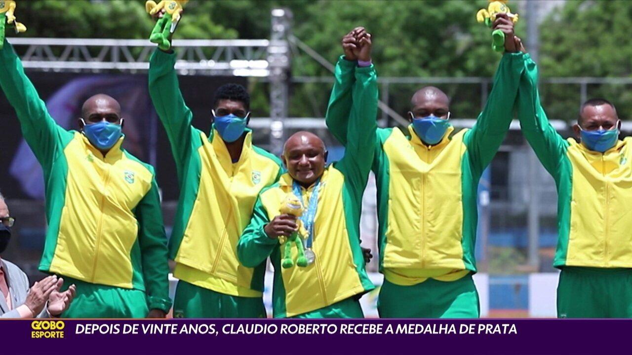 Depois de vinte anos, Claudio Roberto recebe medalha olímpica de Sydney
