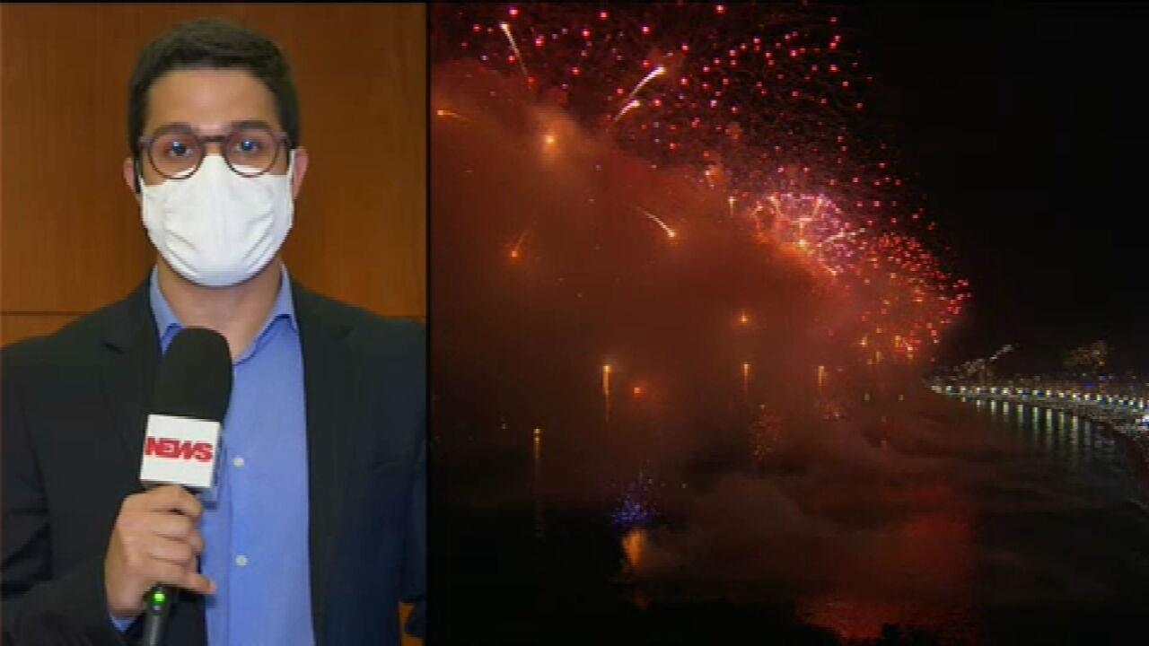 Prefeitura do Rio cancela todas as festas de virada de ano