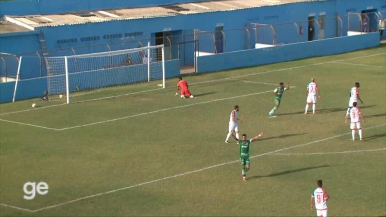 Os gols e lances de Salgueiro 1 x 1 Altos pelas oitavas de final da Série D do Brasileiro