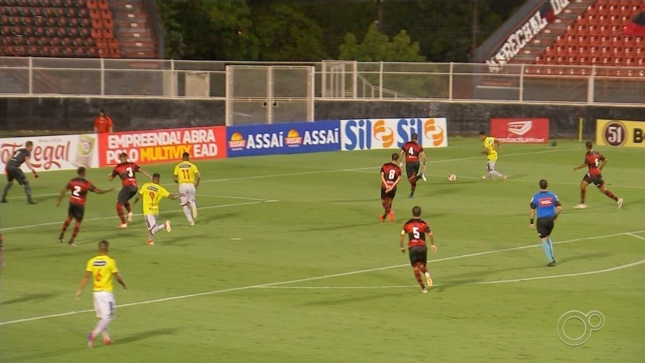 Ituano empata com o Brusque pela Série C do Brasileiro
