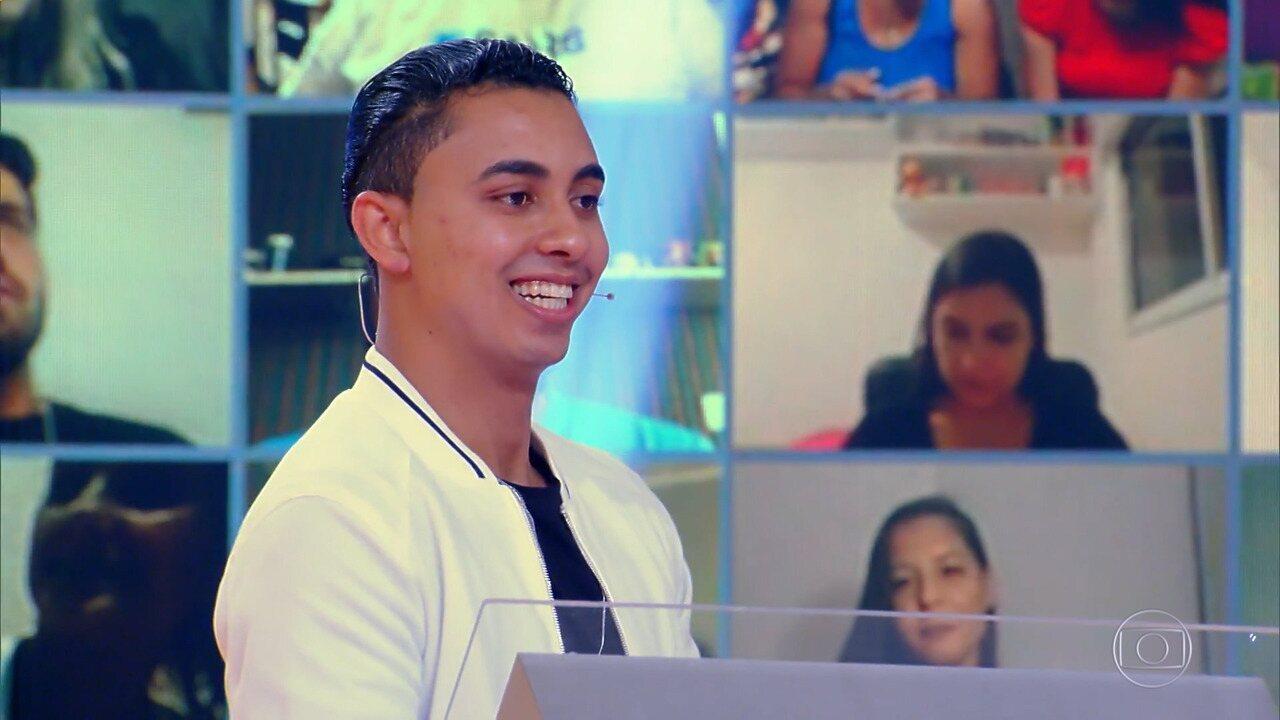 Robeilton Souza participa do 'Quem Quer Ser Um Milionário?'