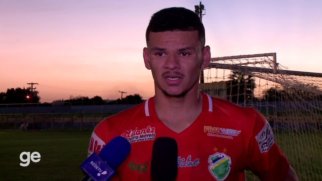 """Marcelo, do Altos, após falha em jogo da Série D: """"Ser goleiro é f%d@"""""""