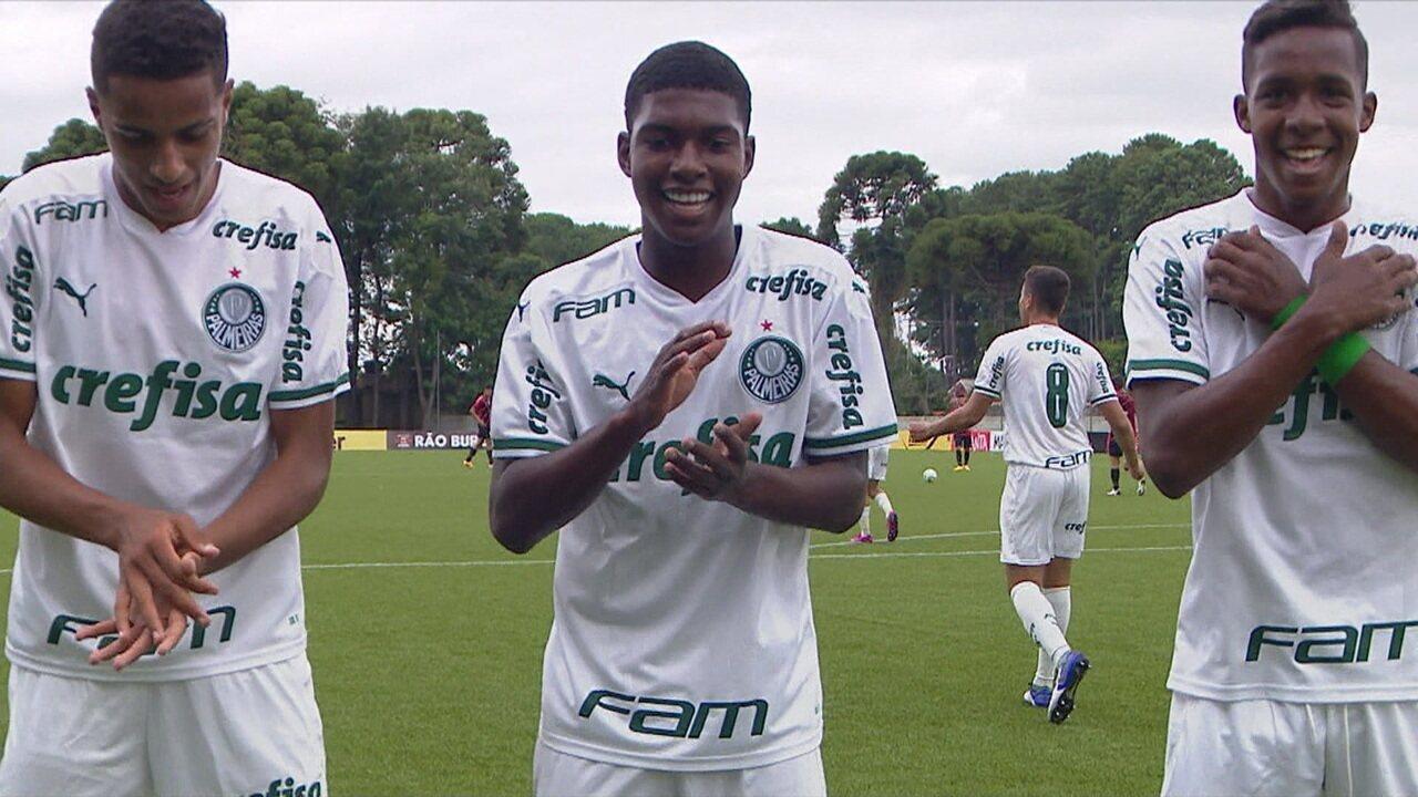 Veja gol de Giovani pelo Palmeiras