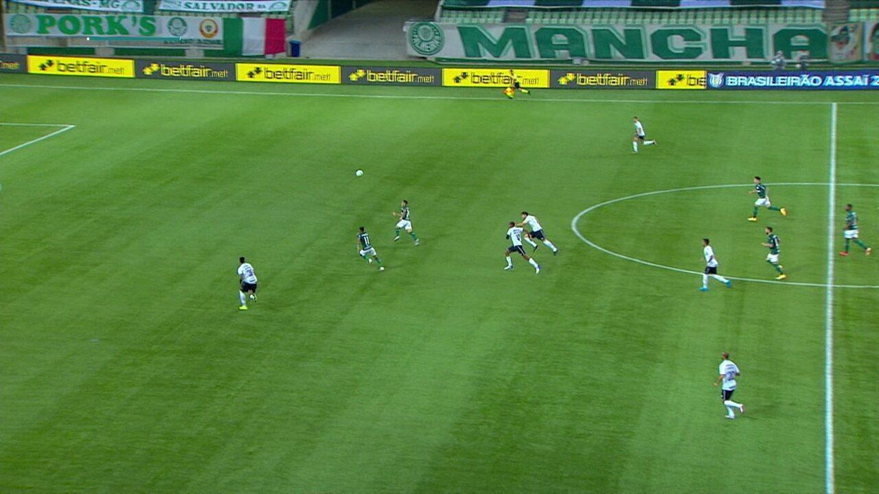 Melhores momentos: Palmeiras 1 x 1 Grêmio, pela 30ª rodada do Brasileirão