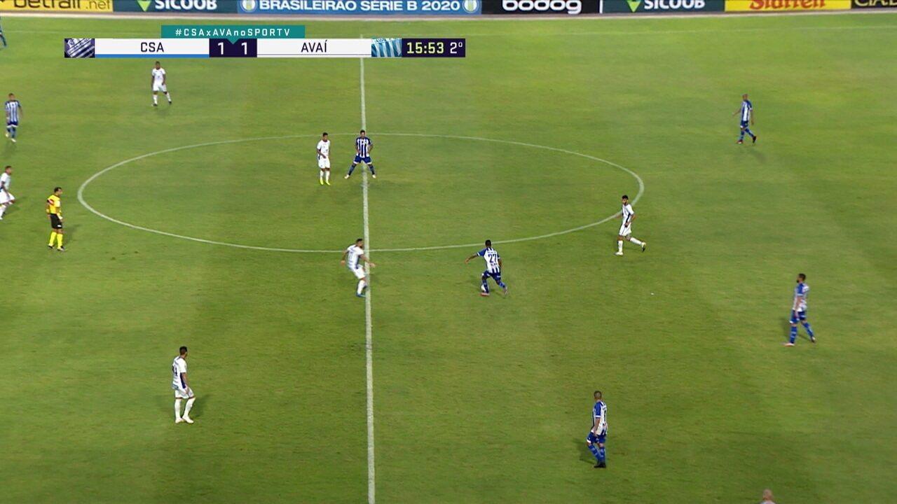 Valdivia deixa o jogo contra o CSA após teste positivo para Covid-19 para a próxima rodada
