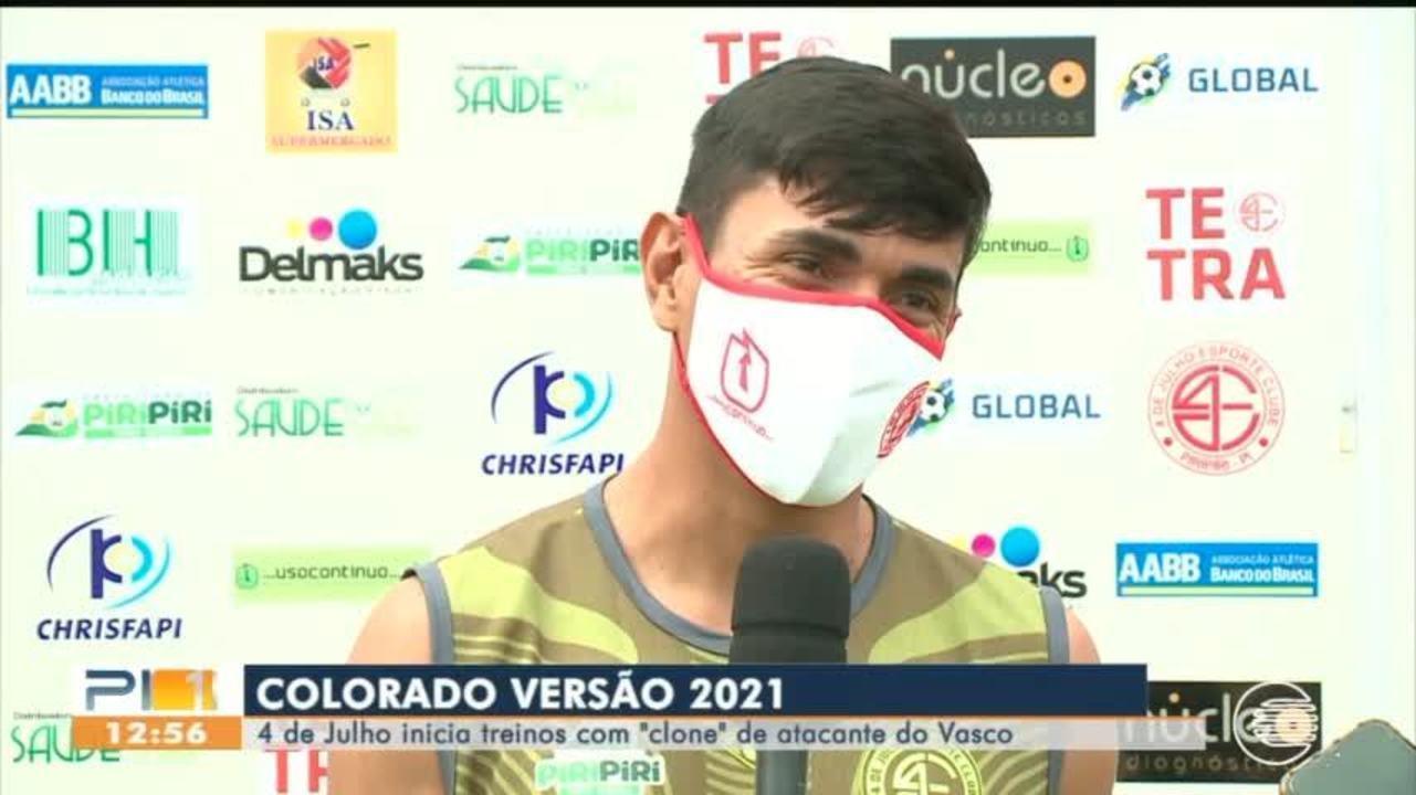 Com clone de atacante do Vasco, 4 de Julho inicia treinos para 2021
