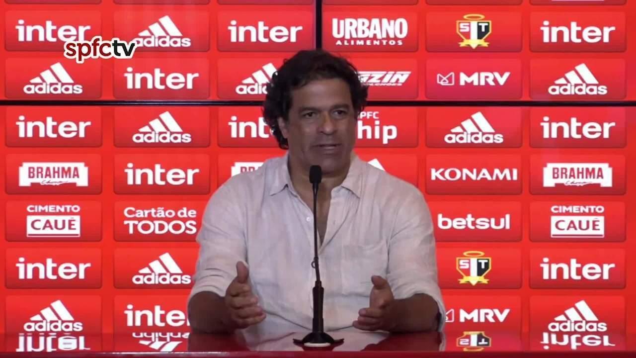 Raí garante permanência de Fernando Diniz até o fim do Brasileirão