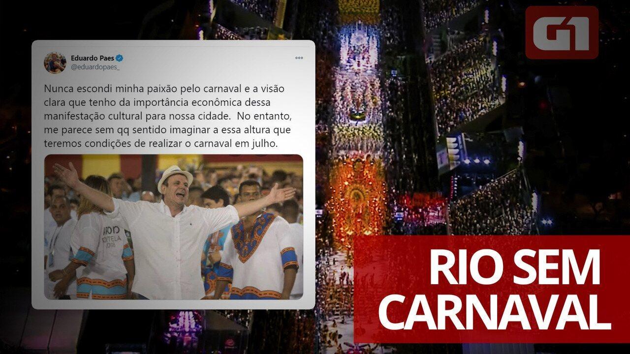Carnaval 2021 no Rio: as decisões sobre o desfile durante a pandemia