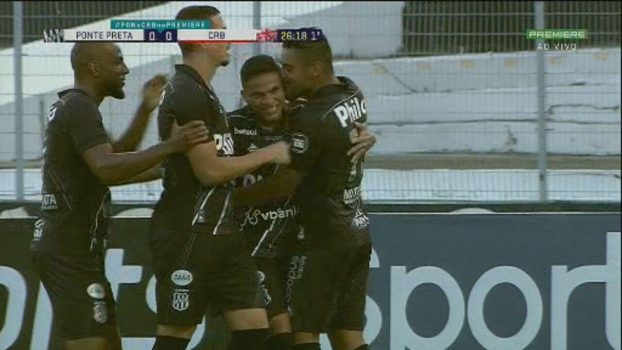 Melhores momentos: Ponte Preta 3 x 1 CRB pela 37ª rodada do Brasileirão Série B
