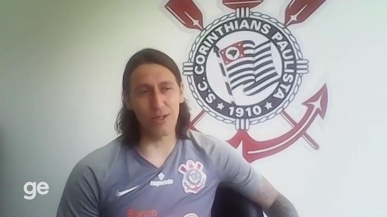 Cassio relembra jogos marcantes pelo Corinthians e diz que quer se aposentar aos 40