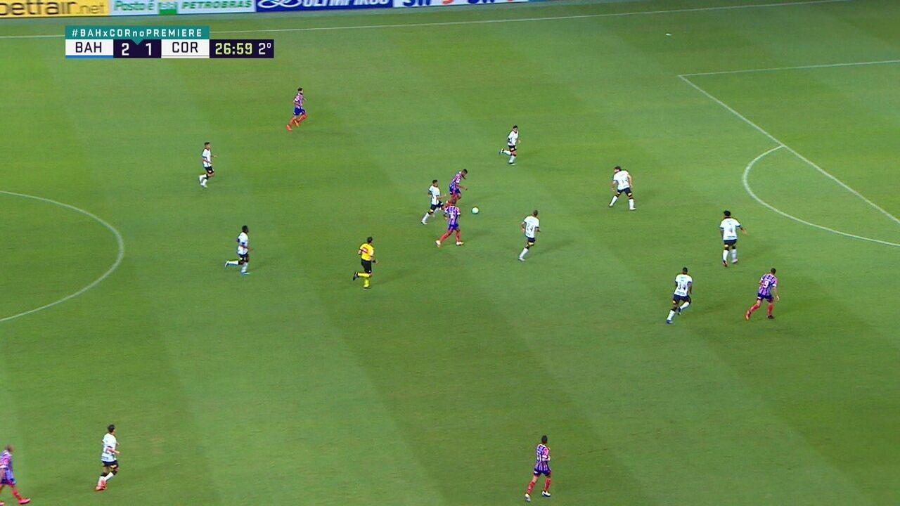Melhores momentos: Bahia 2 x 1 Corinthians, pela 30ª rodada do Brasileirão