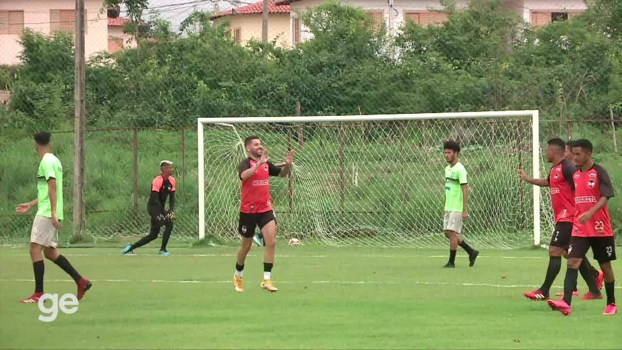 River-PI faz jogo-treino e vence por 4 a 0; assista aos gols