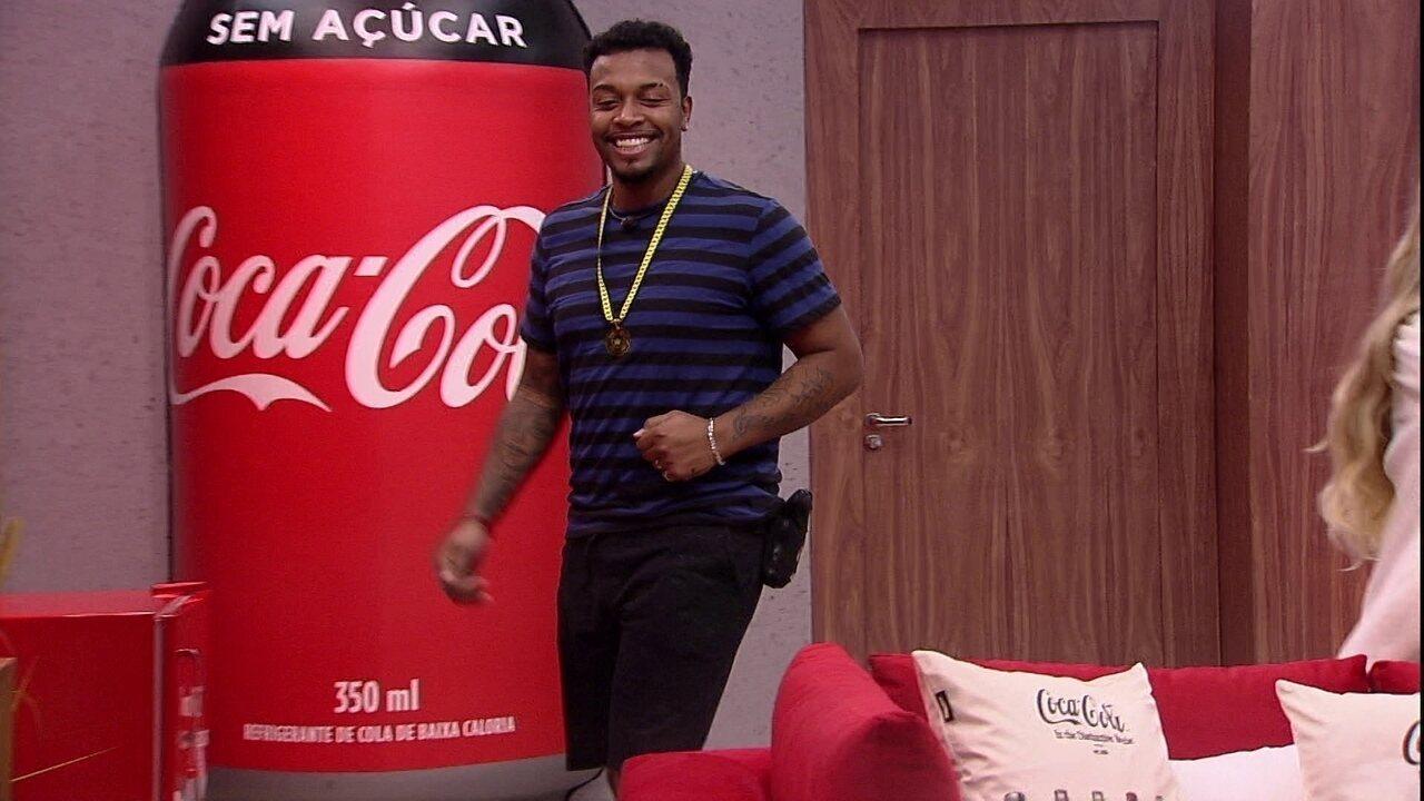Brothers comemoram Cinema do Líder Coca-Cola: 'Eu só queria isso'