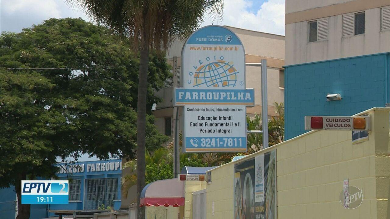 Dois colégios particulares de Campinas suspendem aulas presenciais após casos de Covid-19