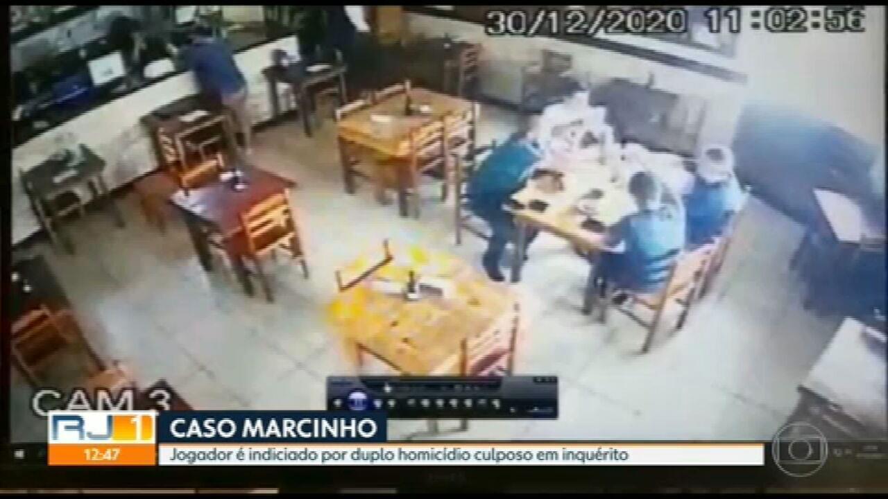 Polícia entrega ao MP a conclusão do inquérito sobre a investigação do caso do jogador Marcinho