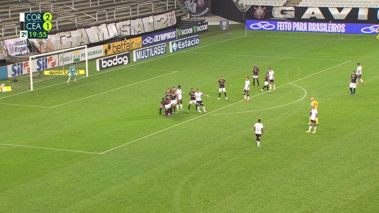 Melhores momentos: Corinthians 2 x 1 Ceará, pela 34ª rodada do Brasileirão