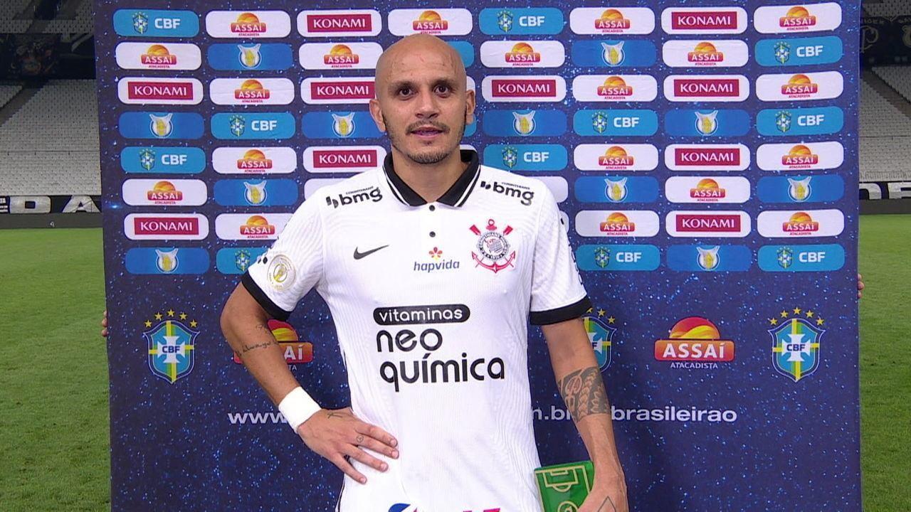 Craque do Jogo, Fábio Santos fala sobre a vitória do Corinthians contra o Ceará