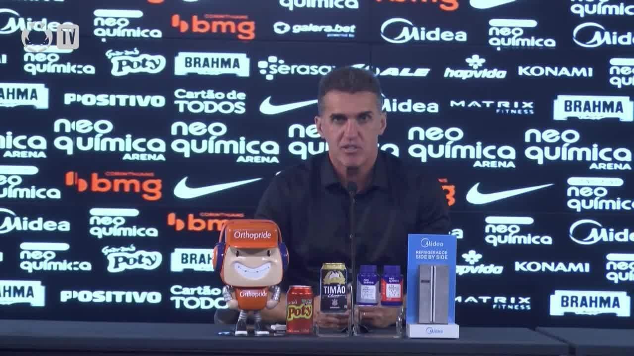 Veja a coletiva de Vagner Mancini, do Corinthians, após a vitória sobre o Ceará