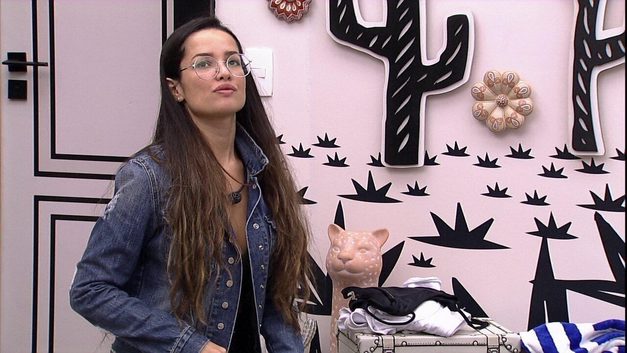 Juliette opina sobre BBB21: 'Se a gente não mudar o jogo, vão sempre três'