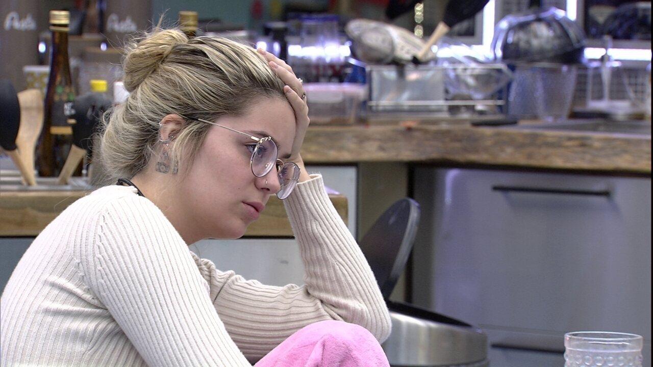 No BBB21, Viih Tube critica brother para Carla Diaz: 'Muito sonso'