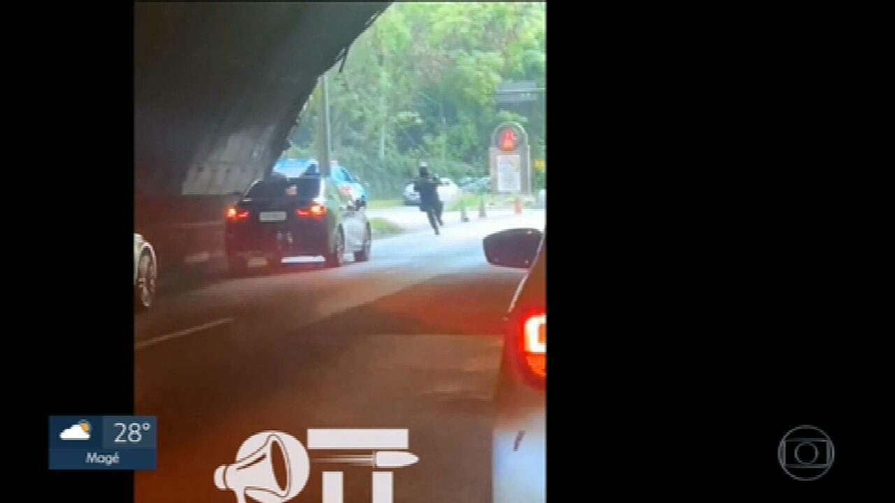 Tiroteio interdita Túnel Rebouças, no Rio; não houve vítimas