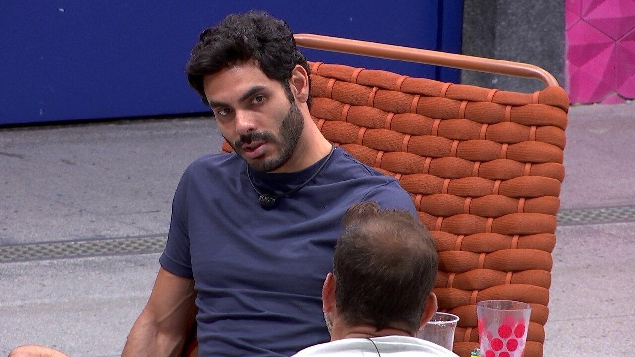 Rodolffo diz que vê Caio como finalista do BBB21: 'É um cara que faz o povo rir'