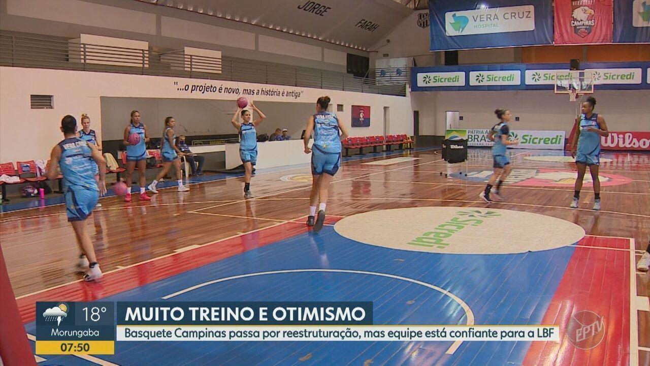 Equipe do Campinas se reformula e segue confiante para a Liga de Basquete Feminino