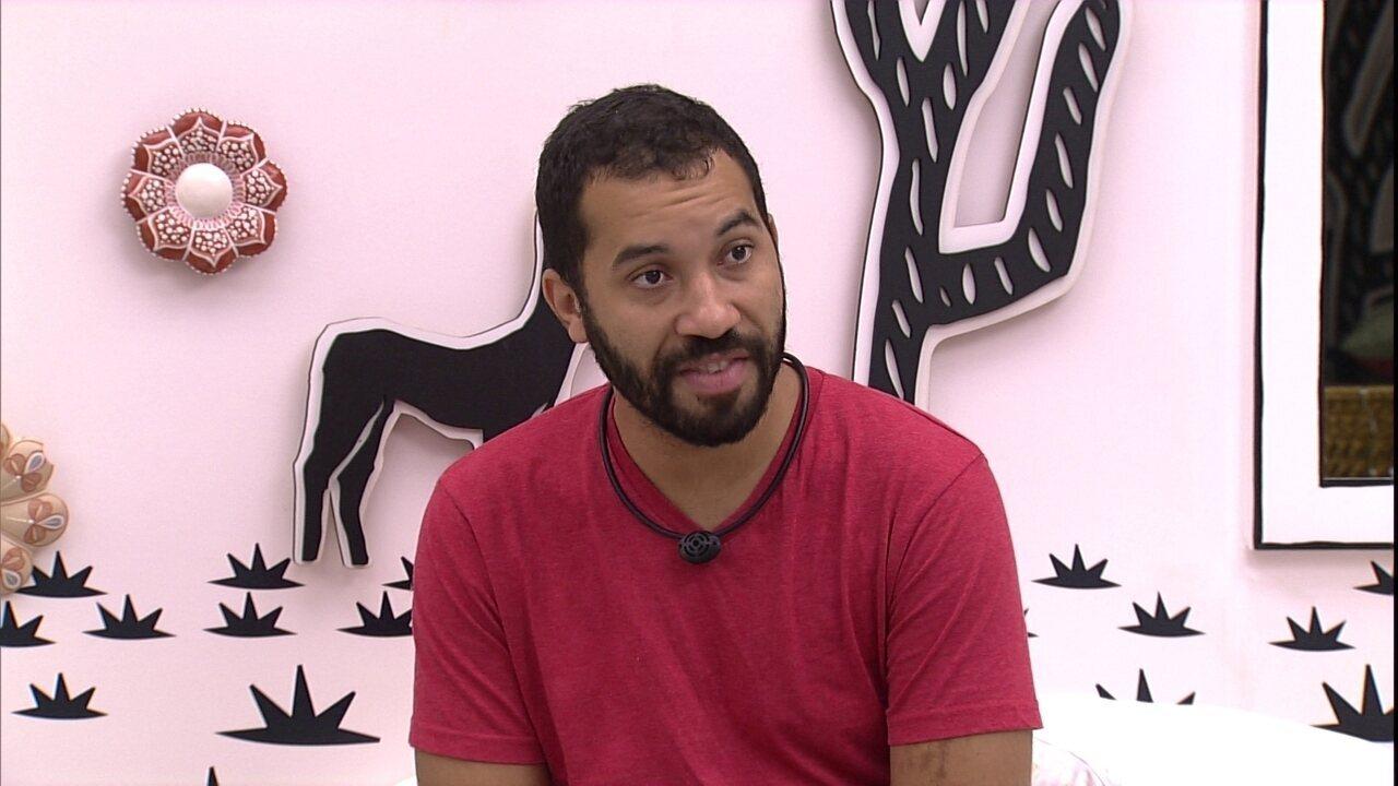 Gilberto comenta discurso de Eliminação: 'Entendi muitas coisas, as coisas ficaram claras'