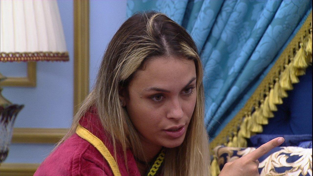 Sarah diz para Rodolffo: 'Para o Gil é uma prioridade tirar a Pocah'