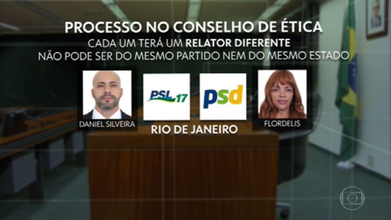 Conselho de Ética vai retomar trabalhos com processos contra os deputados Daniel Silveira e Flordelis