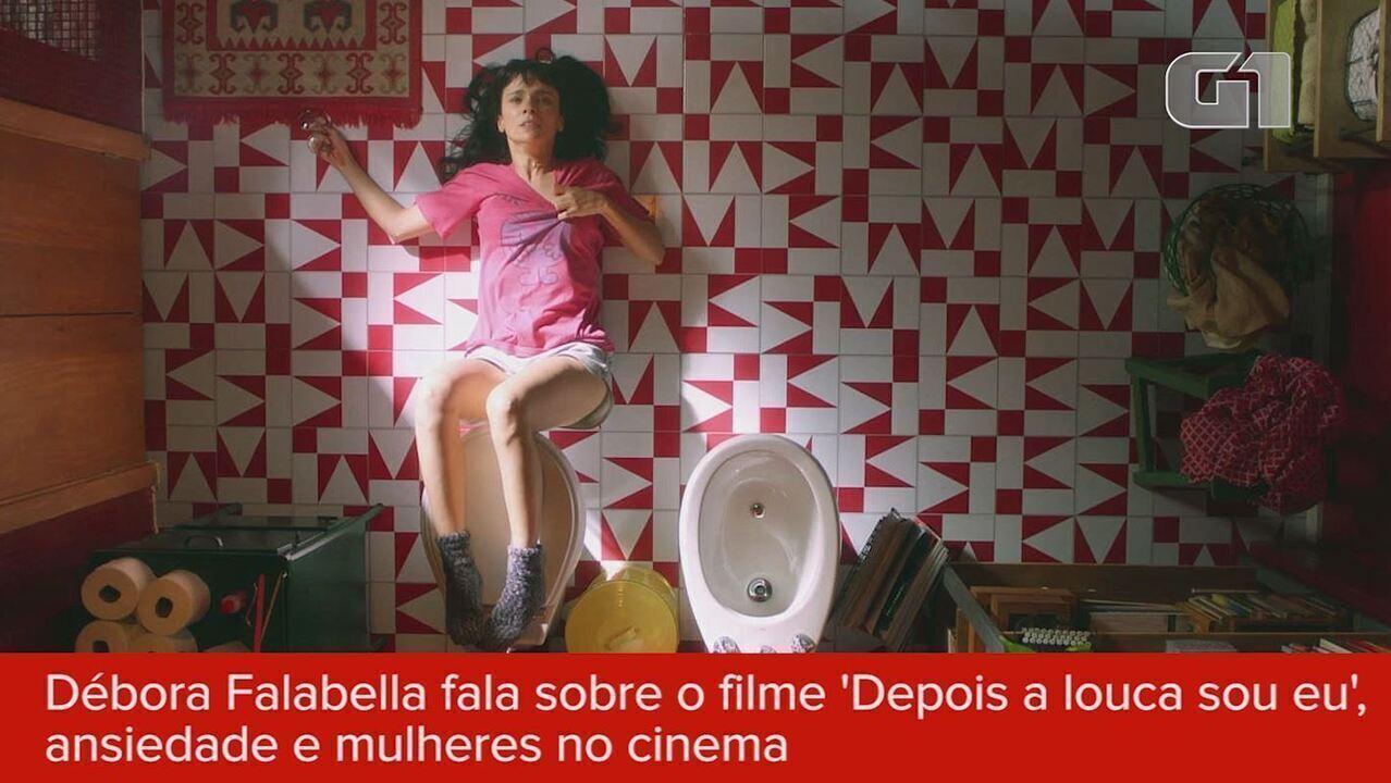 Débora Falabella estrela 'Depois a louca sou eu' e fala de ansiedade