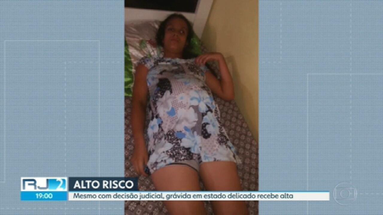 Grávida de alto risco deixa hospital mesmo com decisão judicial