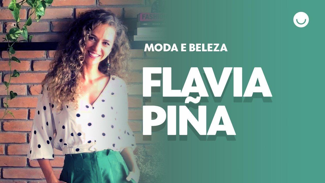 Flavia Piña da dicas de moda